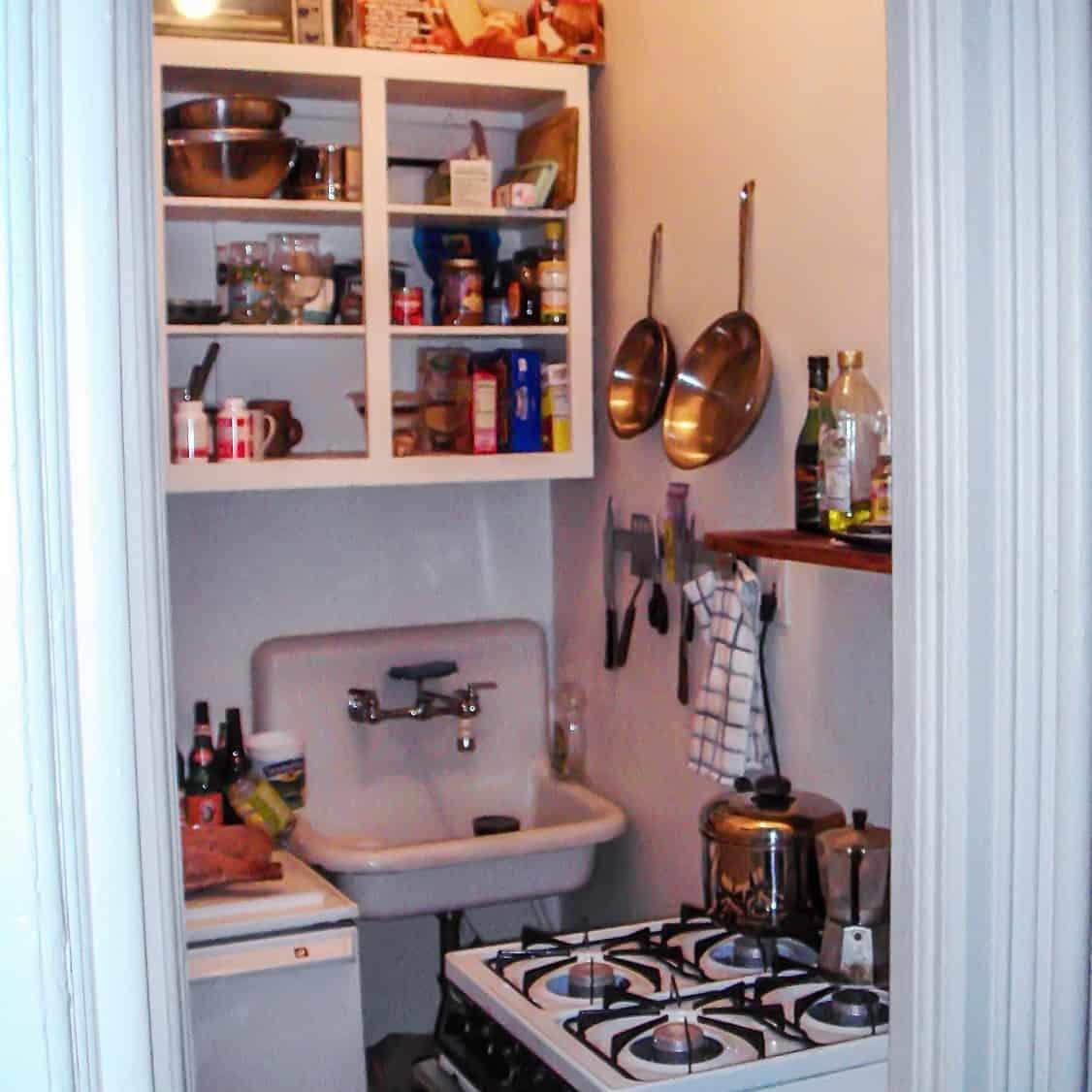 small Brooklyn kitchen