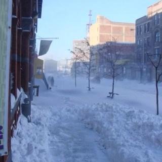 Snowstorm photo