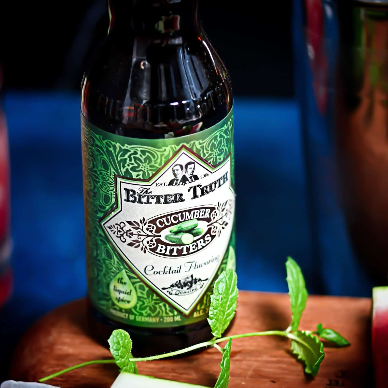 Bitter Truth Bitters With Mint Leaf