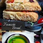 SCD, Low-Carb Focaccia Bread Pin