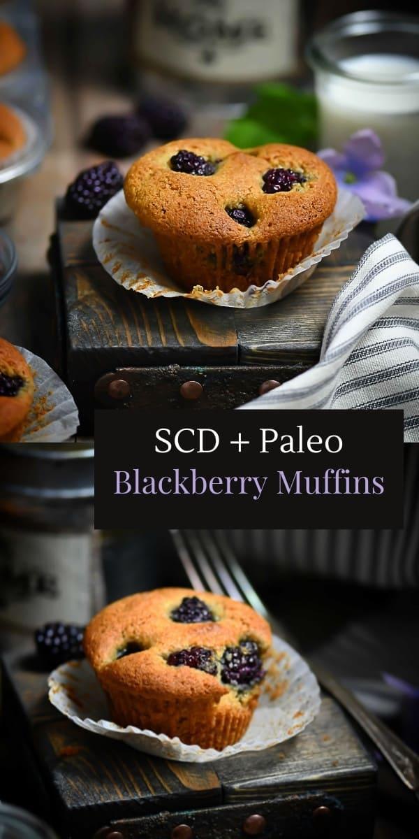 SCD Blackberry Muffin Pin