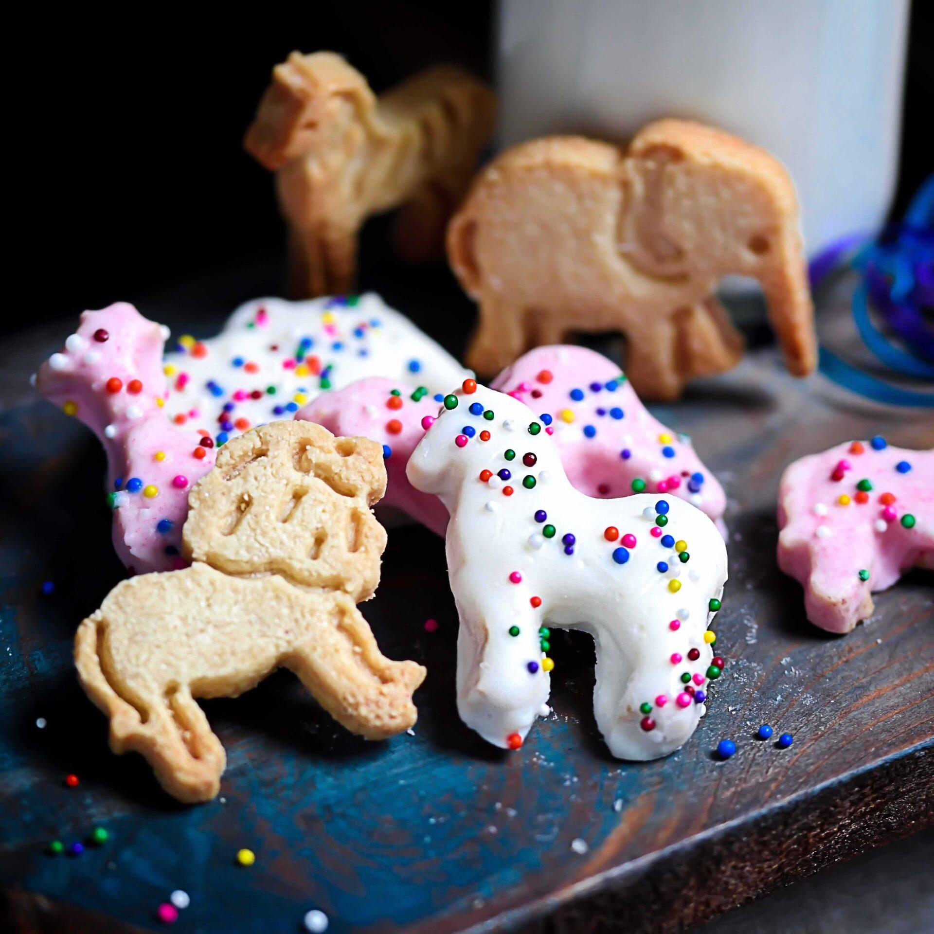 Gluten-Free Circus Animal Cookies